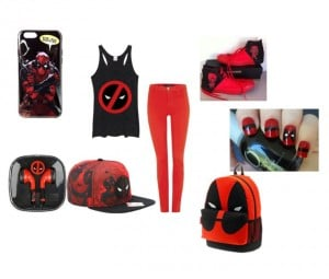 Show your love for Marvel's latest hero with this Deadpool themed outfit.